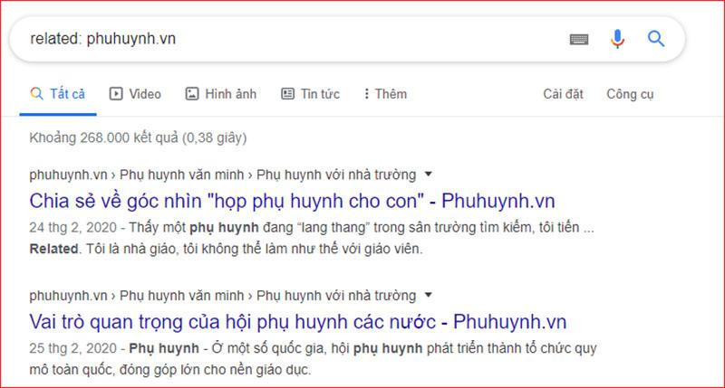 Thủ thuật google