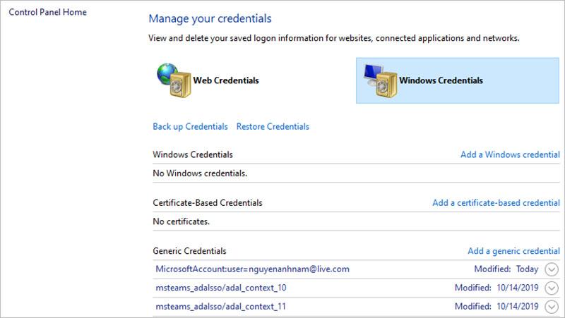 Xử lý lỗi Microsoft Teams